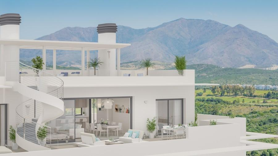 Reform Casares. Water proofing of terrace. Dobble sealed membrane with tar mat and sikalastic water proof cement..