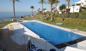 Costa Natura Estepona, in wall air conditioning installation in front line apartment