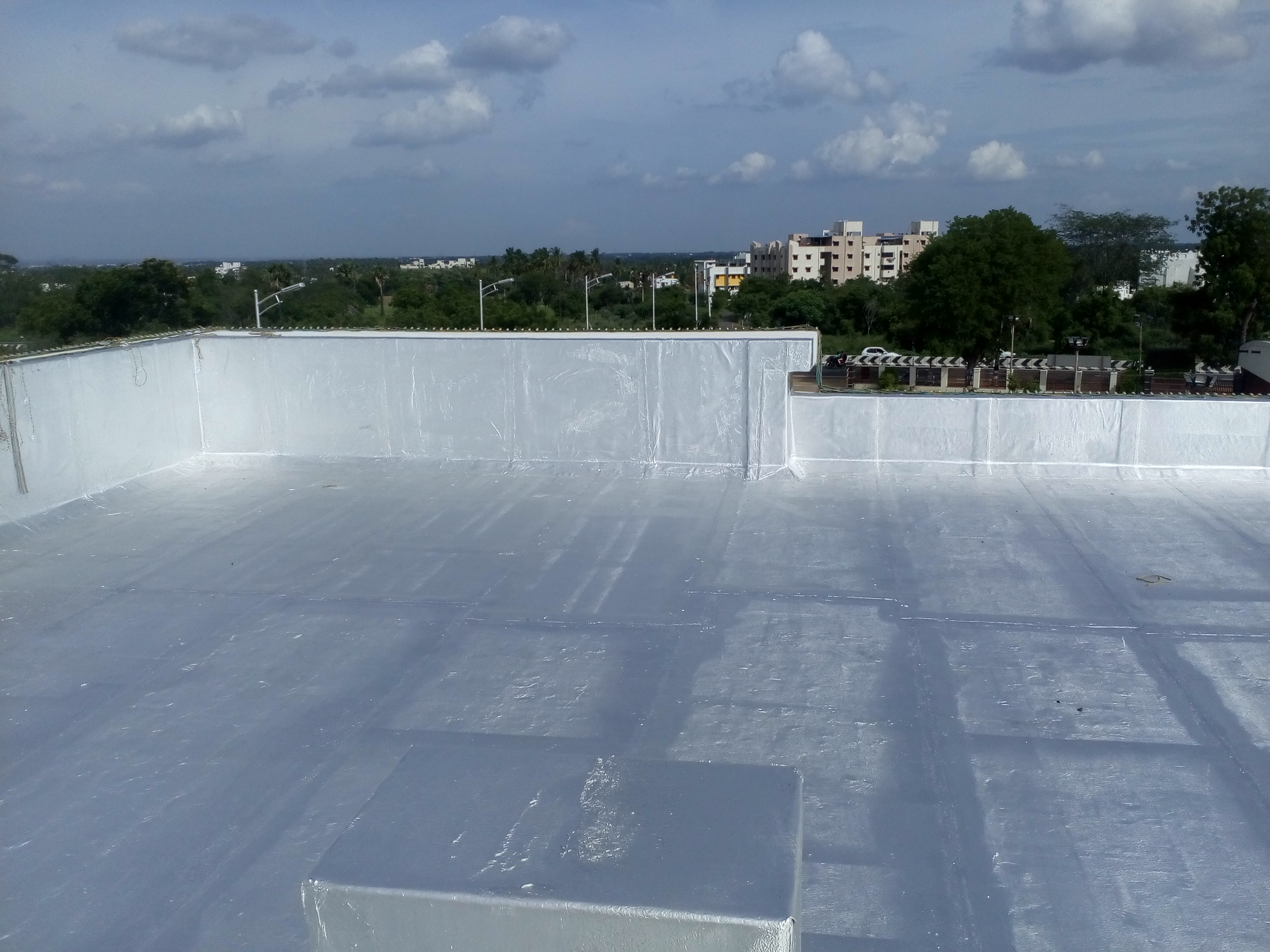 Damp proofing of Roofs & Terraces